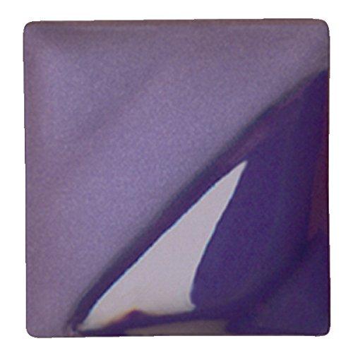 AMACO Velvet Lead-Free Non-Toxic Semi-Translucent Underglaze, 1 pt Jar, Amethyst V-381