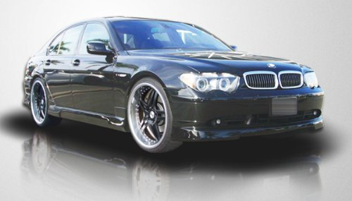 2002-2008 BMW 7 Series E65 Couture Urethane Executive Side Skirts Rocker Panels (short wheelbase) - 2 Piece (Overstock)