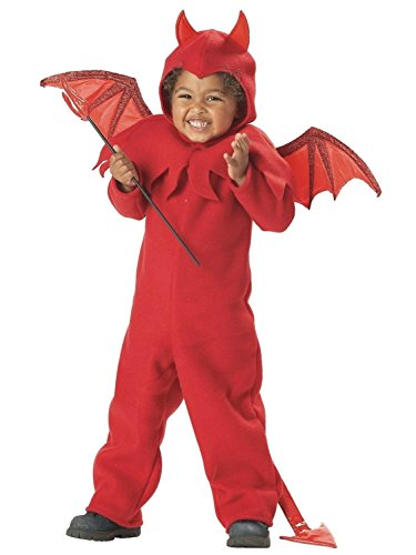 [California Costumes Toddler Boys Lil Spitfire Halloween Devil Costume 3-4T] (Lil Spitfire Toddler Costumes)
