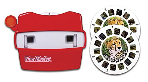 View Master Classic Viewer with 2 Reels Safari Adventure Toy Package May Vary (Viewmaster Reel)