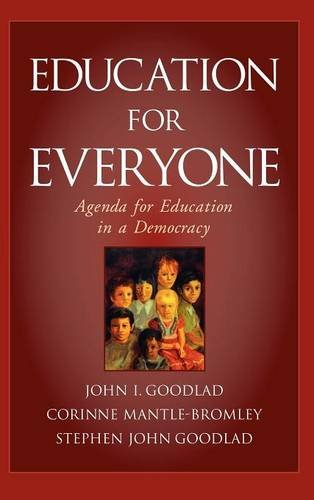 Education for Everyone: Agenda for Education in a Democracy