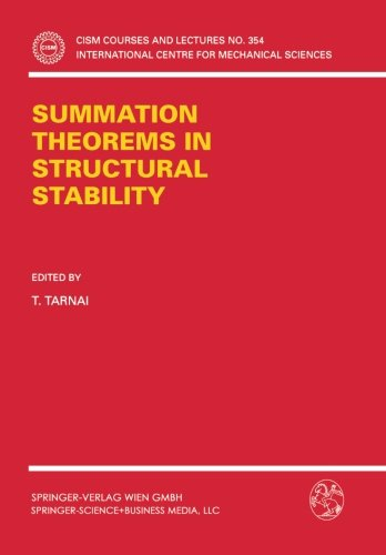Download Summation Theorems in Structural Stability (CISM International Centre for Mechanical Sciences) ebook