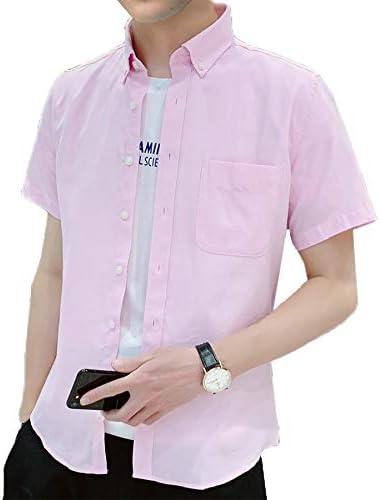 [ジェイストア] amスリムフィットオックス メンズ シャツ カラー ボタン付き amスリムフィットオックスシャツ
