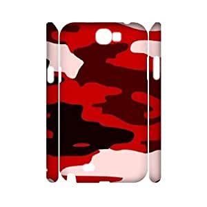 Camouflage Pattern 3D-Printed ZLB560891 Unique Design 3D Phone Case for Samsung Galaxy Note 2 N7100