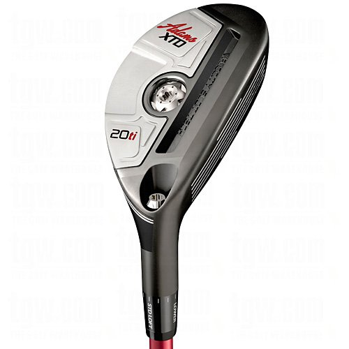Adams Golf Men's XTD Ti Hybrid Club, Right Hand, Graphite, Stiff, 20-Degree ()