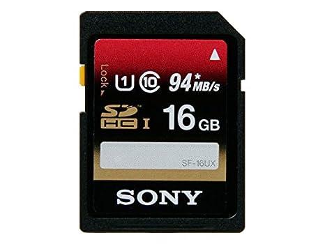 Amazon.com: Sony tarjeta de memoria Secure Digital 16 GB ...