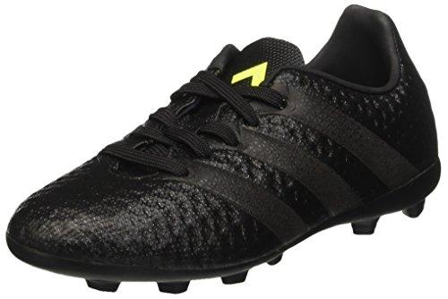 adidas Unisex-Kinder Ace 16.4 Fxg Fußballschuhe Schwarz (Core Black/core Black/solar Yellow)