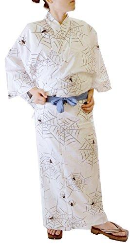 Japanese Traditional Kimono Robe Yukata Men Samurai LL Japan Anime Mt.fuji Hitotoki