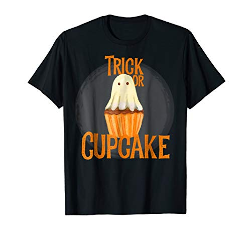 Trick Or Treat Cupcake Halloween Costume Candy Gift Shirt -