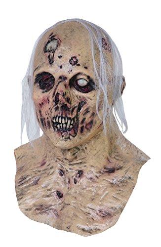 Corpsified Skull Scary Adult Halloween Latex Mask FS003 (Realistic Halloween Masks)
