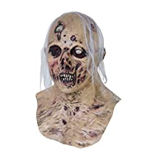 Corpsified Skull Scary Adult Halloween Latex Mask FS003