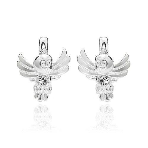 3df53ccde9b1 butterfly - Pendientes para niña plata de ley 925