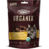 Castor & Pollux Organix Chicken Flavored Cat Treats, 2 Ounce Packages (Pack Of 12) For Sale