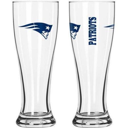 NFL New England Patriots 2-Pack Gameday Pilsner - Glass Game Pilsner