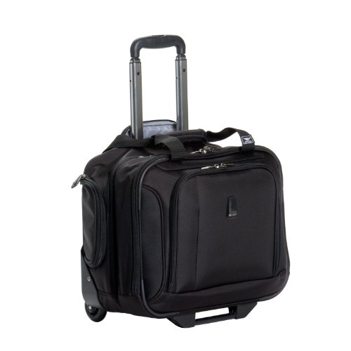 Delsey Luggage Helium Breeze 3.0 Lightweight 2 Wheel Rolling Tote, Black, 18 Inch, Bags Central