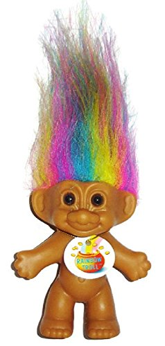 (My Lucky RAINBOW Mini Troll Doll)