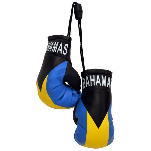 flagsandsouvenirs Boxing Gloves BAHAMAS