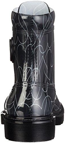 Armani Schwarz Stivali Donna 00020 Nero 9251186a521 AwrFqA