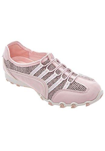 Comfort Kvinners Pluss Størrelsen Tory Elastisk Snøre Sneaker Rosa