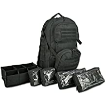 Lightning X Premium Tactical Medic Backpack w/ Modular Pouches & Hydration Port