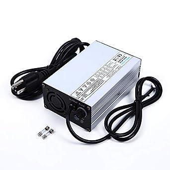 Amazon.com: Cargador inteligente de batería LiFePO4 de 14,6 ...