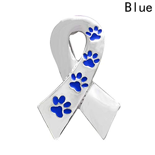 Culturemart Pin Silver Color Alloy Paw Prints Brooch for Women Men Dog Lover Suit Shirt Collar Lapel Pins Gift Scarf Dog Claw Brooch (Brooch Claw)