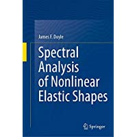 Spectral Analysis of Nonlinear Elastic Shapes