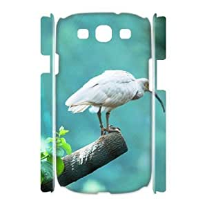 Crested Ibis Customized 3D Cover Case for Samsung Galaxy S3 I9300,custom phone case ygtg-337537