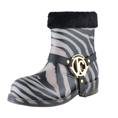 Juste Cavalli Femmes Bottes De Pluie Multicolores Bottines Nous Chaussures 9 Il 39