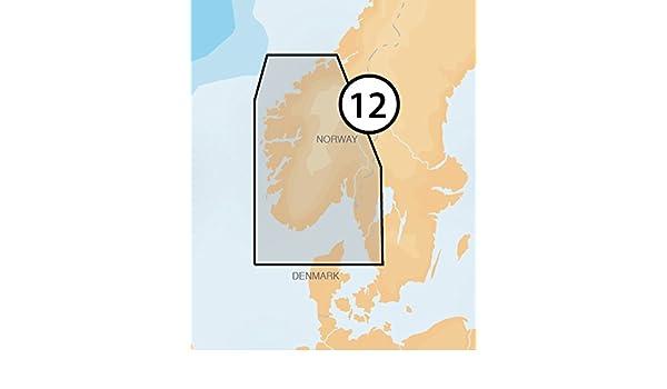 Navionics Platinum+ 12P+ NORWAY SOUTH-WEST Marine Charts on SD/MSD: Amazon.es: Electrónica