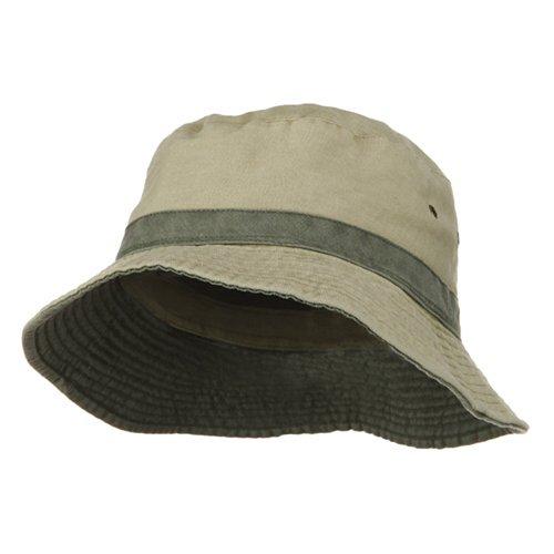 Cotton Twill Hat Bands Khaki - 9