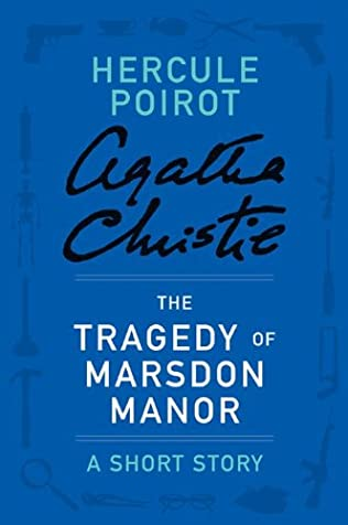 book cover of The Tragedy of Marsdon Manor