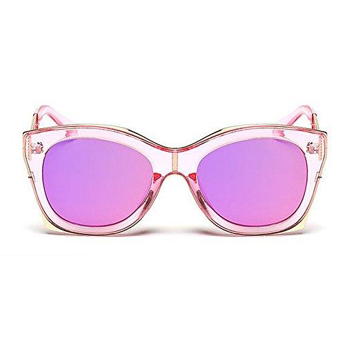 de Gu C4 al de Sol Forma Libre Extragrande Peggy Color UV Conducción C3 Color Unisex Protección Lente Gafas Cuadrada Aire Viajar con 7xdAw1Z