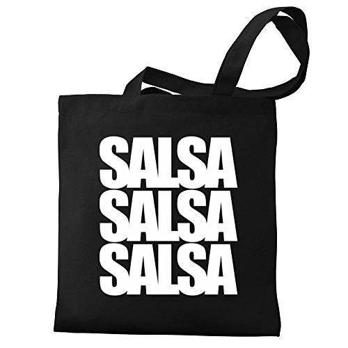 Eddany De Salsa Palabras Bolsos Tres Lona De HwHrvqn4