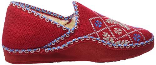 rojo Red 019 Nordikas Booties Classic donna da 544XzHq