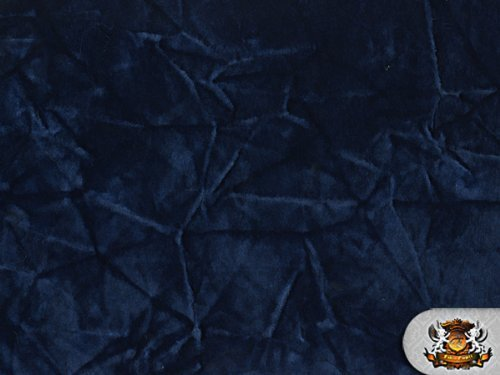 upholstery fabric navy blue - 1