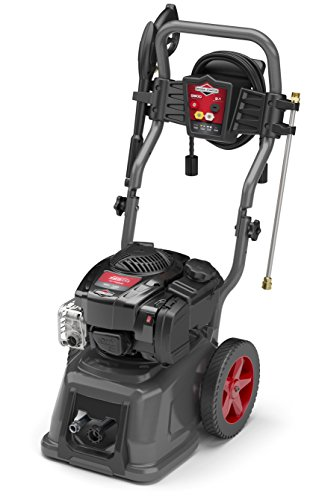 Briggs & Stratton Gas Pressure Washer 2800 PSI 2.1 GPM with 25-Foot High Pressure Hose, 4 Nozzles & Detergent Injection by Briggs & Stratton (Image #1)