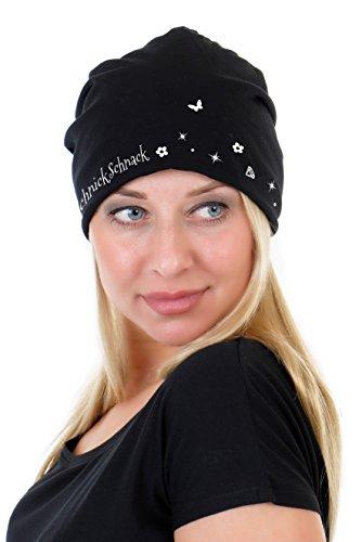 3Elfen Cappello Maglia Beanie Jersey - Berretti a Maglia fata Schnick  Schnack de Donna bambina - grigio  Amazon.it  Abbigliamento f4c3bd4c0dfa