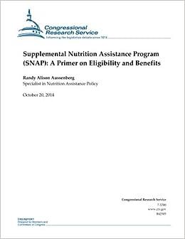 Supplemental Nutrition Assistance Program (SNAP): A Primer ...