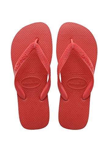 Havaianas Women's Top Flip Flop Sandal,Ruby Red, 37/38 BR(7-8 M US Women's / 6-7 M US Men's)