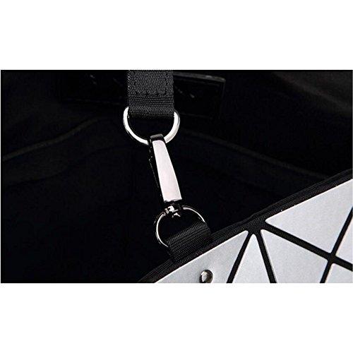 tracolla blu 29cm Borsa fashion pieghevole da tracolla Borsa tracolla donna 11 Bianco a con 30L a 66xPtfwnqv