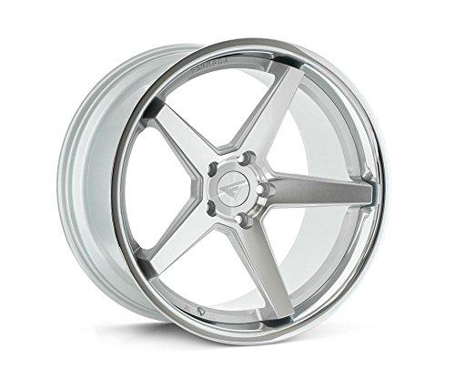 Ferrada Wheels FR3 19x8.5 5x114 ET35 Machine Silver/Chrome Lip C.B 73.1 ()