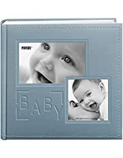 Pioneer Photo Albums 200-Pocket Album for 4 by 6-Inch Prints, Blue