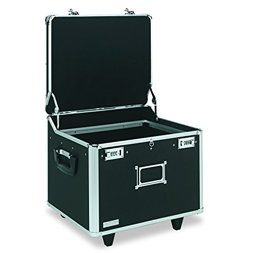 Med Hanging (Vaultz VZ01270 Locking Mobile File Chest, Letter/Legal, 15 1/4 x 12 1/4 x 11 1/2, Black)