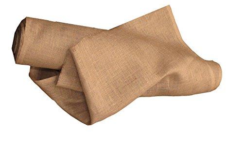 - LA Linen 40-Inch Wide  Natural Burlap , 50 Yard Roll