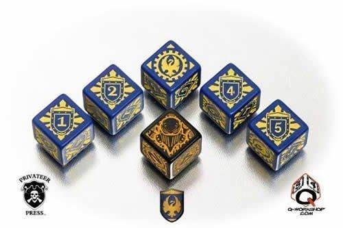 大量入荷 Q-Workshop Games Warmachine Warmachine シグニガーダイス B01M0EXU1C Games B01M0EXU1C, Oriental Select Shop マリマリ:7168bb07 --- arianechie.dominiotemporario.com