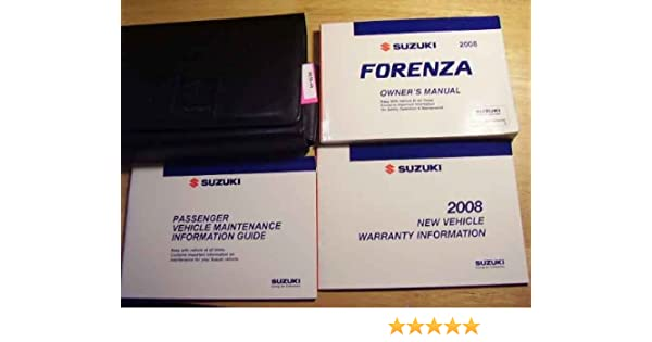 2006 suzuki forenza service manual