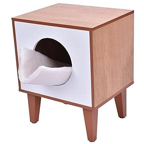 Amazon.com: Cat Kitty Aserrín para gatos Pet Box Cajas de ...