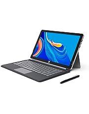 """XIDU PhilPad - Ordenador Portátil de 13.3"""", Tablet PC 2 en 1, Pantalla Táctil FullHD (Intel E3950, 6GB RAM, 128GB eMMC, Windows 10 Home) USB C, Teclado Desmontable & Lápiz óptico Incluido"""