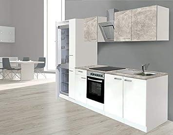 respekta Einbau Küche Küchenzeile Küchenblock 270 Korpus ...